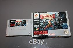 Castlevania IV 4 Con Caja Para Super Nintendo Snes