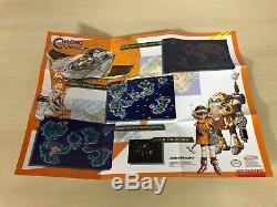 Chrono Trigger Complet Snes Super Nintendo Cib Jeu Avec Des Cartes Affiches
