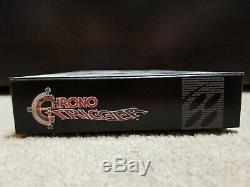 Chrono Trigger Snes (super Nintendo) Avec La Boîte Et Le Manuel Nettoyé / Testés