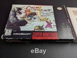 Chrono Trigger Squaresoft Officiel Boîte Authentique Que Super Nintendo Snes Ex Cnd