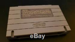 Chrono Trigger Super Nintendo Snes 1995 / W Jeu Original Affiche Manuel Et Carte