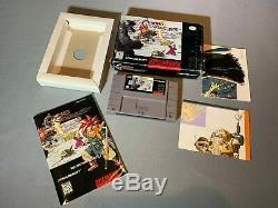 Chrono Trigger Super Nintendo Snes Complète Cib
