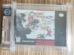 Chrono Trigger Super Nintendo Snes Near Mint Cib Wata 7.5 Squaresoft Rares Wow