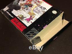 Chrono Trigger Super Nintendo Snes Très Bon État Complete Cib