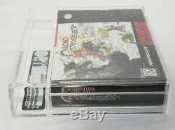 Chrono Trigger Super Nintendo Snes Vga 80+ Nm Near Mint Extrêmement Rare Graal