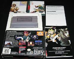 Chrono Trigger (super Nintendo, Snes, 1995) Complet Dans La Boîte Cib, Authentic