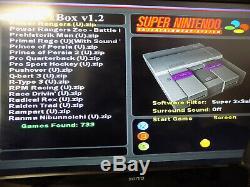 Comme Nouveau Console Xbox D'origine 2x Controller + 733 Snes Jeux Super Nintendo