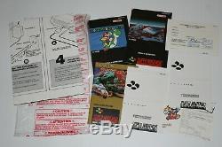 Consola Super Nintendo Snes En Caja Con 2 Juegos Buen Estado Version Española