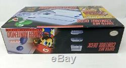 Console De Jeu Super Nintendo Entertainment - Console De Jeu Grise Neuve Dans Sa Boîte