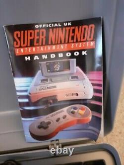 Console De Jeu Super Nintendo Snes, Boxed, Working, Avec Contrôleurs 2x
