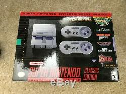 Console Neuve Authentique Snes Super Nintendo Classic 21 Edition Edition Mini
