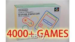 Console Nintendo Mini Super Famicom Classic + Jeu Nes 4000 Sfc Genesis (jap Snes)