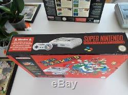 Console Snes Super Pack Nintendo Super Mario World Edition Rare Bundle