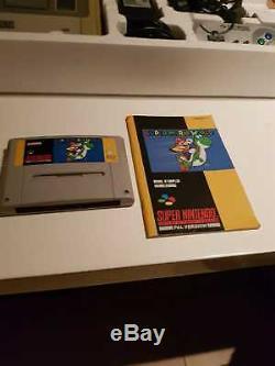 Console Super Nintendo Edition Super Mario World En Boite Pack Snes
