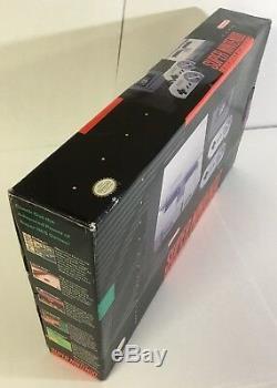 Console Super Nintendo Snes Box Box Box Mario World Complete Cib