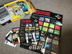 Console Super Nintendo Snes Et Super Mario All Stars En Boîte Testées Et Fonctionnelles