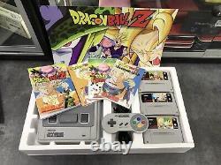 Console Super Nintendo Snes Pack Dragonball Z / Pack Custom / Tres Bon Etat