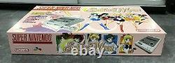 Console Super Nintendo Snes Pack Sailor Moon / Pack Custom / Tres Bon Etat