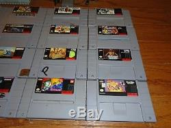 Console Super Nintendo Zelda Bundle Snes Avec 25 Jeux Et Lot De Contrôleurs Lots