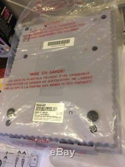 Console Système Super Nintendo Control Set Complète Avec Box Snes Avec 2 Contrôleurs