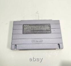 Console Système Super Nintendo Snes Avec 1 Contrôleur 1 Jeu
