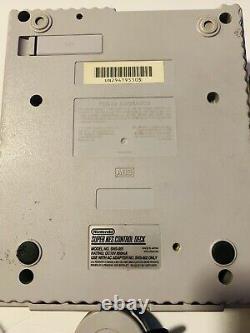 Console Système Super Nintendo Snes Avec Contrôleur Testé Et Travail Sns001