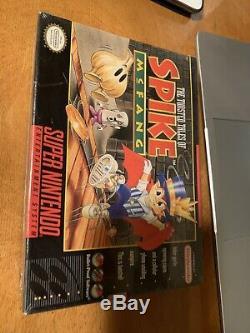Contes Pervers De Spike Mcfang Super Nintendo (snes). Marque Nouvelle Usine Scellé