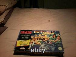Contrôleurs Snes Super Nintendo Street Fighter 2 Turbo Console/game Boxed 2x