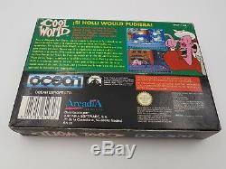 Cool World D'origine Pal España Super Nintendo Snes. Buen Estado. Combino Envio