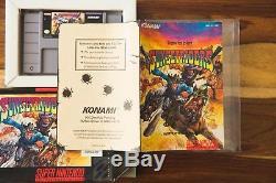 Coucher De Soleil Riders Super Nintendo Snes 1993 Manuel De Boîte Complète Konami Cib Rare