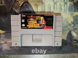 DIX Snes Super Nintendo Game Lot Authentique Testé Mario Rpg Zelda Metroid + Plus