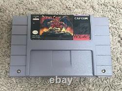 Demon's Crest Authentic Cart -action Adventure (snes, Super Nintendo 1994)