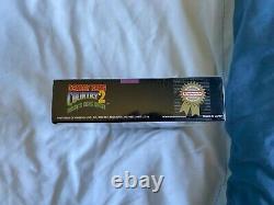Donkey Kong Country 2 Super Nintendo Snes Flambant Neuf Scellé Ntsc Inutilisé