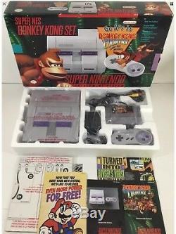 Donkey Kong Country Super Console Snes Super Nintendo Snes Box Box In Box Près De Menthe