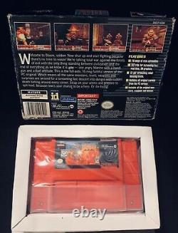Doom Red Edition Pour Super Nintendo Snes Testé Avec La Boîte