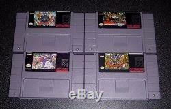 Dragon Quest 1 2 3 5 6 (i II III V Vi) Ensemble De Jeu Pour Snes Super Nintendo