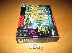 E. V. O La Recherche D'eden Evo Super Nintendo Snes Boîte D'origine