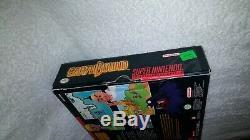 Earthbound Big Box Cib Complète Super Nintendo Snes Authentique Scratch Et Sniff