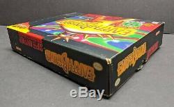 Earthbound Big Box Cib Complète Super Nintendo Snes Avec Scratch N Sniffs Reg Nice