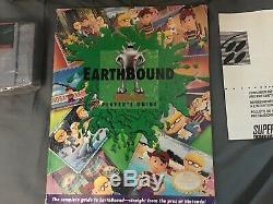 Earthbound Cib Super Nintendo Snes