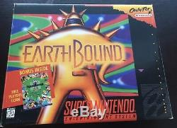 Earthbound Complete In Box Vg (1995, Super Nintendo Entertainment System)