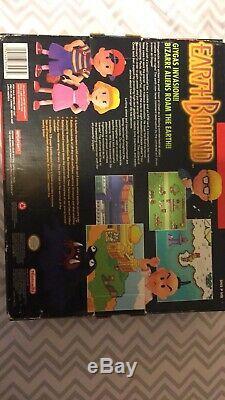 Earthbound Complete Super Nintendo Snes Jeu Original Earth Bound Big Box