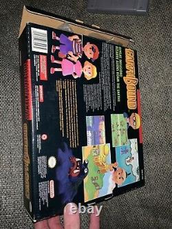 Earthbound Snes Big Box Authentic Super Nintendo 1994 Registry Game Affiche