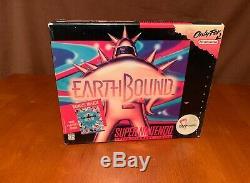Earthbound Snes Big Box Authentique Super Nintendo Cib Complete 1994