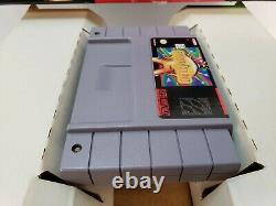 Earthbound Snes Cib Complete Authentic Excellent Cond Rare! Super Nintendo