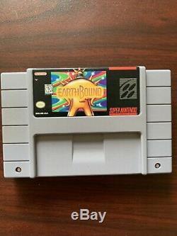 Earthbound Snes Super Nintendo Authentique