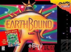 Earthbound Snes Super Nintendo Jeu