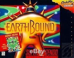 Earthbound Snes Super Nintendo Jeu Cosmétique Porter