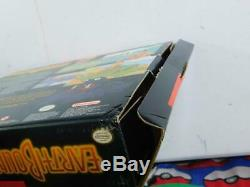 Earthbound Super Nintendo Snes 1995 Jeu Big Box Guide Du Lecteur Scratch N Sniff