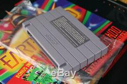 Earthbound Super Nintendo Snes Cib Complete Box Withmint Panier, New Scratch & Sniff